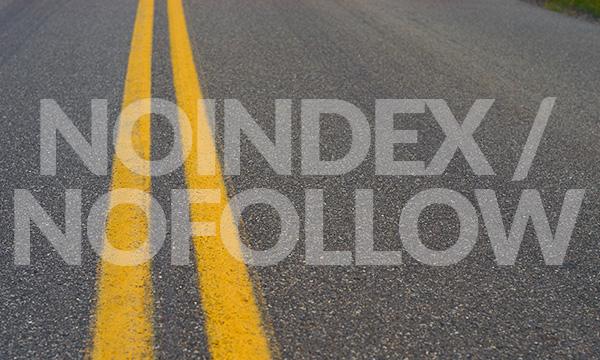 Как использовать noindex и nofollow