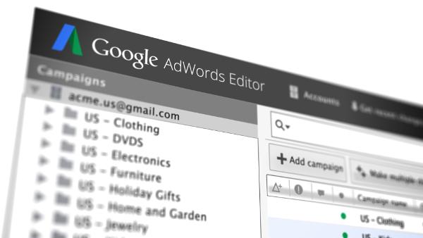 Новые возможности редактора AdWords