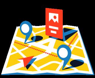 Объявления Директа на Яндекс.Картах