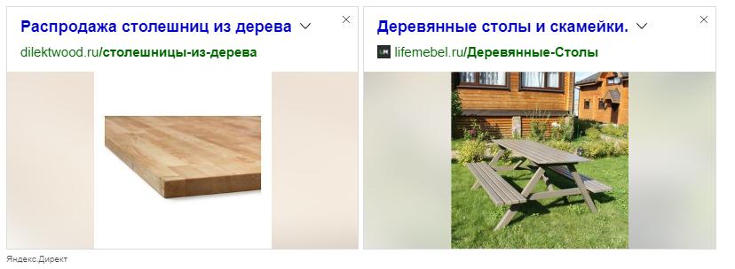 Текстово-графический блок Яндекс.Директа