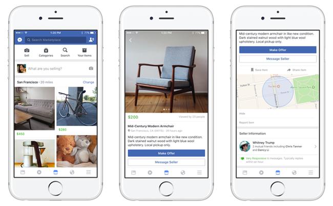 Facebook готовится открыть доску объявлений в России