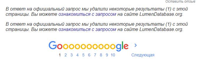 Поисковые алгоритмы Google