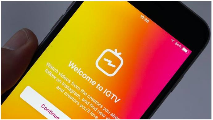 В Instagram заработала система телевизора