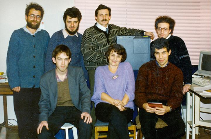 Команда Яндекса в самом начале пути