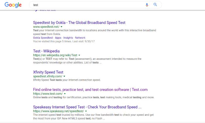Google был замечен в примерке нового дизайна десктопной выдачи