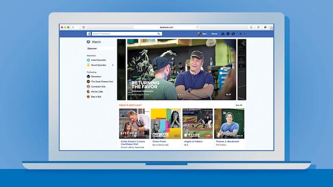 Facebook открывает доступ к платформе Watch по всему миру