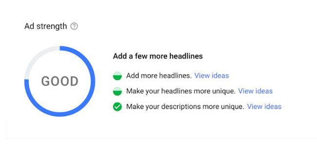 Google Ads поможет улучшить адаптивные поисковые объявления