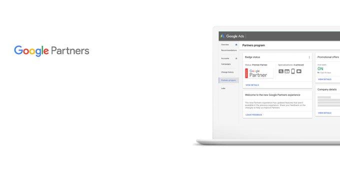 Google переносит сведения о партнерах в Google Ads