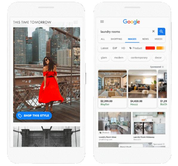 В Google Ads доступны новые форматы рекламы для магазинов