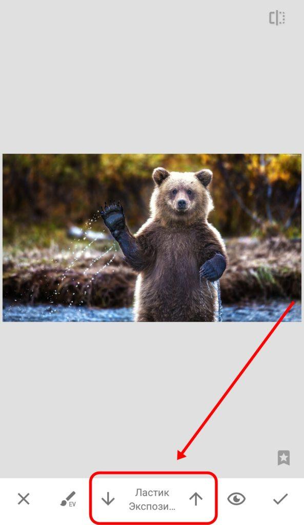 Руководство по Snapseed