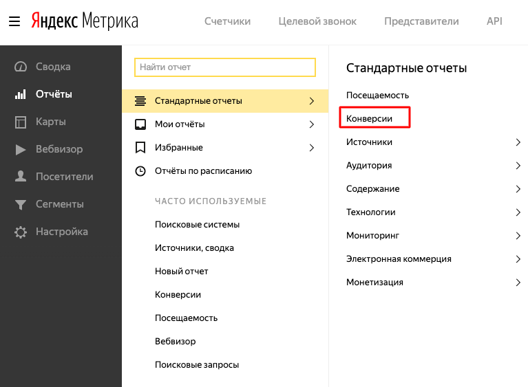 Как отслеживать конверсии в Яндекс.Метрике [инструкция]