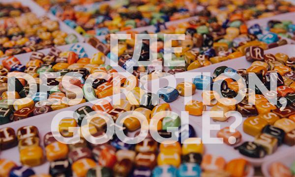 Как часто Google игнорирует description [исследование]
