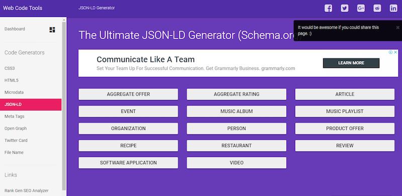 Формат микроразметки JSON-LD: что это такое