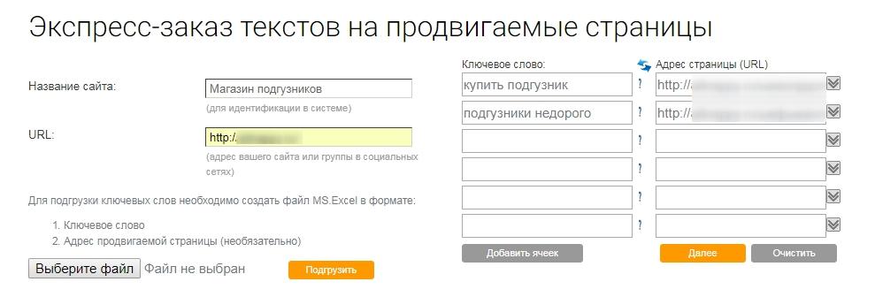 Как заказывать тексты для коммерческого сайта [инструкция PromoPult]