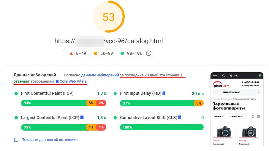 Как провести аудит страницы при помощи PageSpeed Insights и ускорить ее