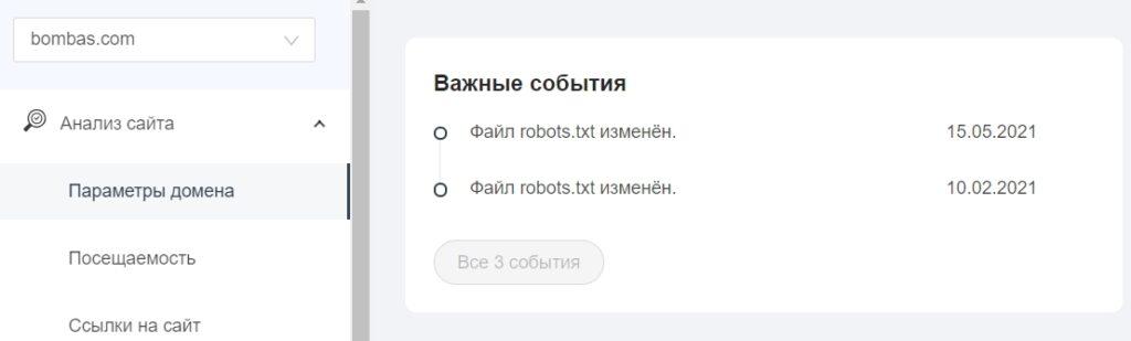 Оповещения в интерфейсе